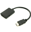 כבל מתאם HDMI To VGA w/Audio Converter
